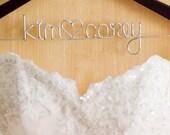 Three Wedding Hangers for Laura Grenning