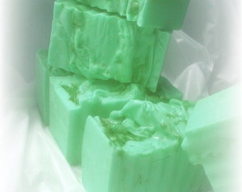 lemon lime goats milk glycerin soap