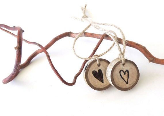 RESERVED For JEANNE, 150 Wood Slices, Wedding Charms, Heart, Aspen Wood Keepsake, Destination Wedding, Spring Summer Fall Winter