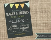 Baby Shower Invite-Couples Baby Shower-Contemporary-Casbury Lane