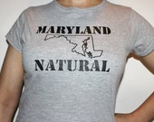 Maryland Natural Hair T-Shirt