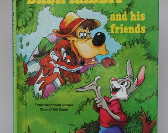 Brer Rabbit and friends Notebook - Handmade Disney Notebook