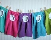Pullover Bibs - Set of 5 Bibs - Microfiber - Boy Bib - Girl Bib - Microfiber Bib - Baby Bib - Best Bib - Infant Bib - Toddler Bib