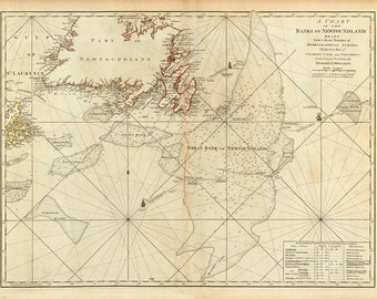 Banks of Newfoundland 1776