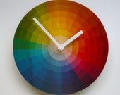 Objectify Color Wheel Wall Clock - Medium Size