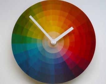 Objectify Color Wheel Wall Clock - Medium Size