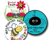 "CRAWLERS TRIO PACK - 40 each of ""Spider Bright"", ""Scribble  Bugs"" and ""Lovely Ladybugs"" 20% off"