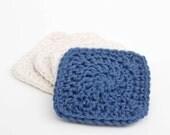 Crochet Facial Scrubbie Pattern - Do it yourself - Instant Download PDF