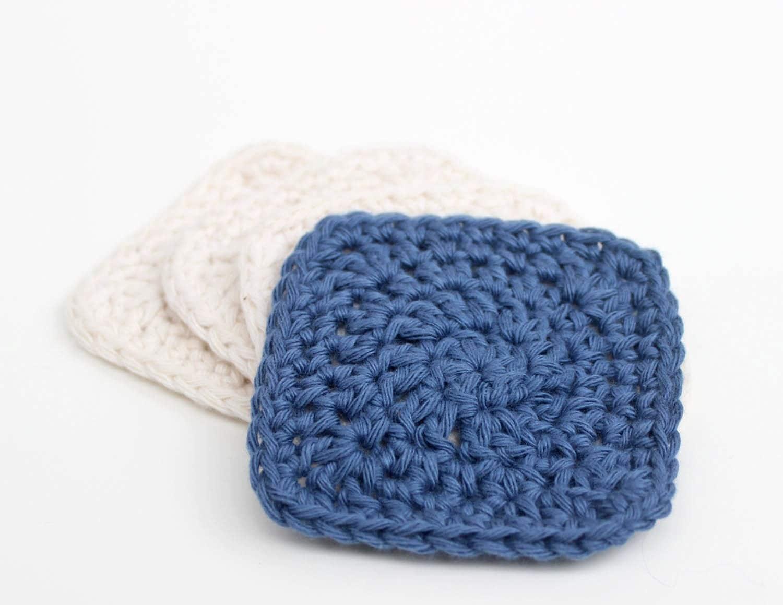 Crochet Patterns Only Spiral Scrubbie : Crochet Facial Scrubbie Pattern Do it by DeuxBrinsDeMaille