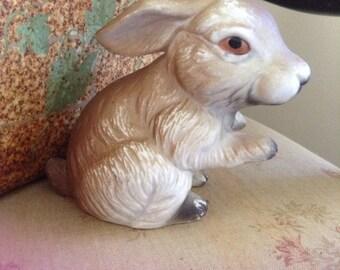 Ceramic bunny, garden bunny, Easter bunny