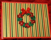 Wreath Christmas Card  20130186