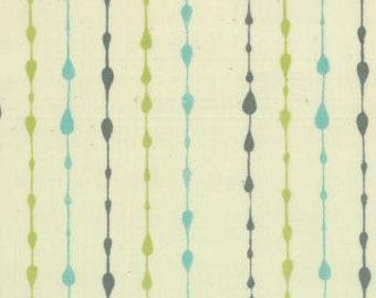 Little Things - Organic - Aqua Strings by Arrin Turnmore of Little Figs from Moda