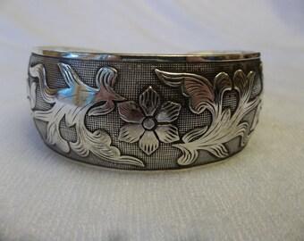 Silver Bracelet - Cuff Bracelet - Bangle Bracelet - Silver Jewelry