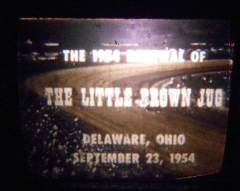 Vintage 16mm Little Brown Jug Harness Horse Race 1954