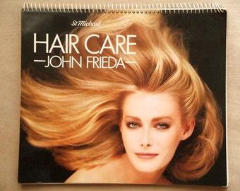 1980s Hair Care manual by John Frieda