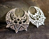 Gypsy (Large) Silver Earrings