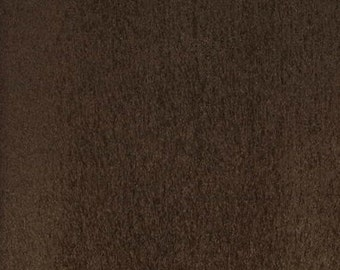 """60"""" Wide Earth Polyester micro faux suede upholstery fabric by the yard"""