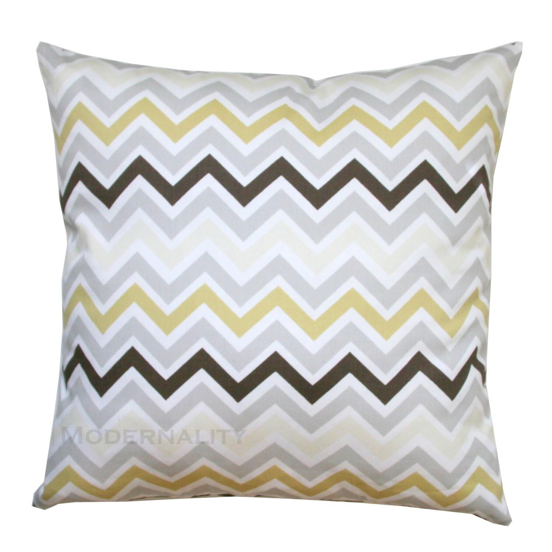 Decorative Pillows Outlet : CLEARANCE Decorative Chevron Pillow by ModernalityHomeDecor