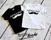 Little Man Mustache T-Shirt
