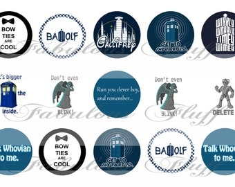 Doctor Who Whovian bottle cap images