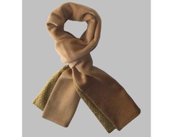 Men's Mink, Cashmere and vintage Japanese silk scarf