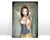 "Postcard ""BIANCANEVE"" (Snow White)"