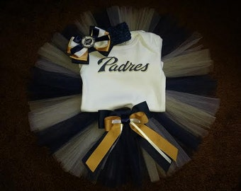 San Diego Padres inspired tutu outfit