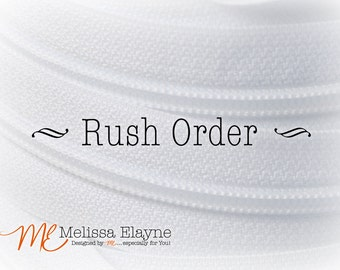 Rush order/ Expedited Service