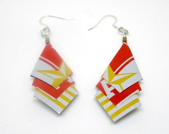 Beer Can Earrings  Set #13