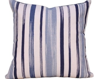 Pillow - Decorative Pillow - Throw Pillow - Stripe Pillow