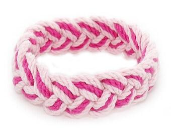 Pink and Hot Pink Sailor Friendship Bracelet