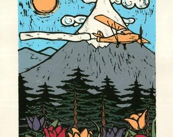 Tulipa, 2013 (Original Hand-pulled Screen Print)