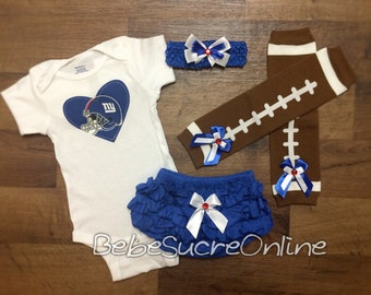 New York Giants Game Day Outfit