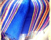 HAPPY   ///    Woven Knit Colorful Blanket