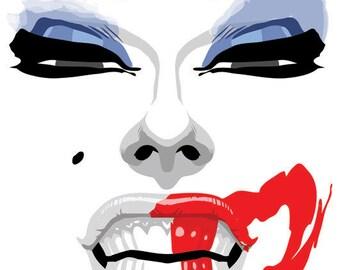 Alaska - Lipstick Postcard