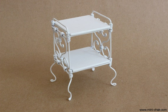 Items Similar To 1/6 Scale Bedside Table/ Nightstand White