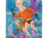 Aquaman Giclee Art Print