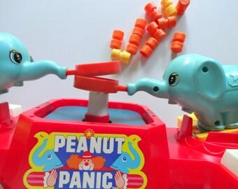 Vintage Tomy Peanut Panic  Board Game 1979