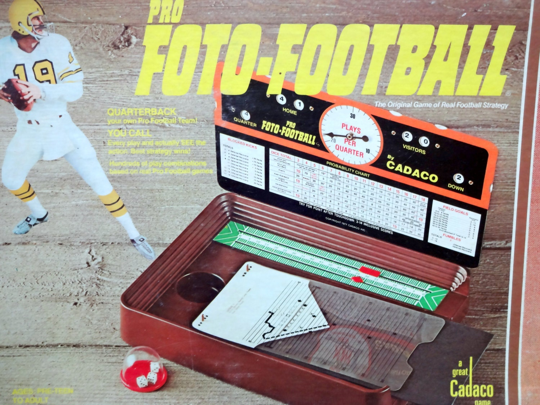 Vintage Football Board Games 20