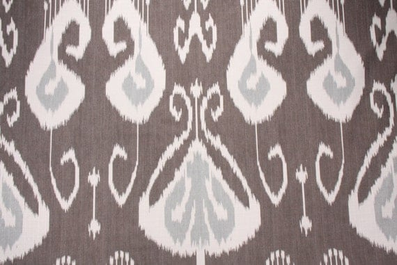 Two 26x26 Custom Pillow Covers - Euro Shams - Kravet - Kupang - Grey Ironwood