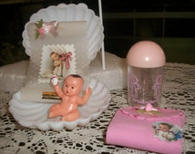 Baby Girl Shower Cake Toppers