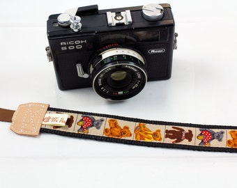 DSLR Camera strap---Bears