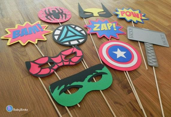 Fabulous Photo accessoires : Le Marvel Super Hero Set 10 pièces JQ27
