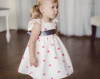 Pink Confetti Birthday Dress