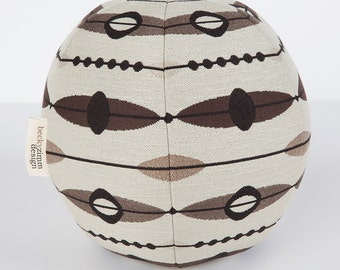 Throw Pillow- Mid-Century Modern- Modern Saucer- Designer Pillow- Round Pillow- Great for Dorm room decorating by beckyzimmdesign