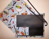 I Spy bugs! Chalkboard For Kids/Placemat