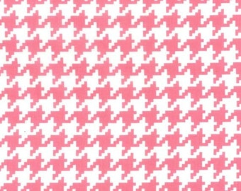 Pink Houndstooth From Michael Miller