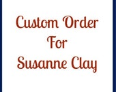 Custom hand painted sign for Susanne Clay