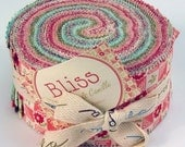 Bliss jelly roll - rare OOP by Bonnie and Camille for Moda