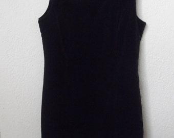 Black velvet 90'S  Gap dress
